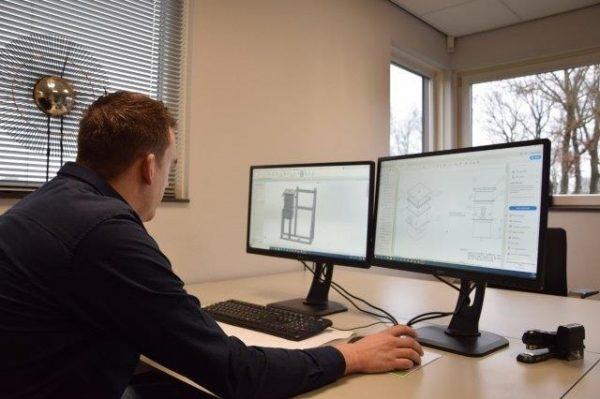 Engineering (Solid Works) tekening maken door Descotech Metal B.V. Twente